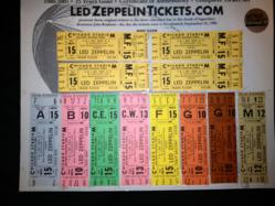 The Led Zeppelin Super Deluxe Complete Ticket Set